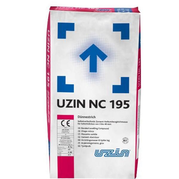 UZIN NC 195 selbstverlaufender zementärer Dünnestrich auf Bodenchemie_de