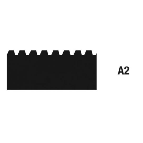 Zahnleisten Zahnung A2 28cm auf Bodentools.de