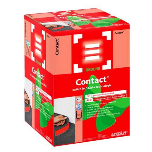 Uzin switchtec Contact 90 Hochleistungs-Sockelband für Teppichsockel auf Bodenchemie.de