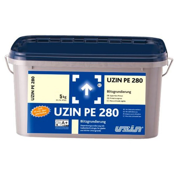 UZIN PE 280 5kg Blitzgrundierung auf Bodenchemie.de