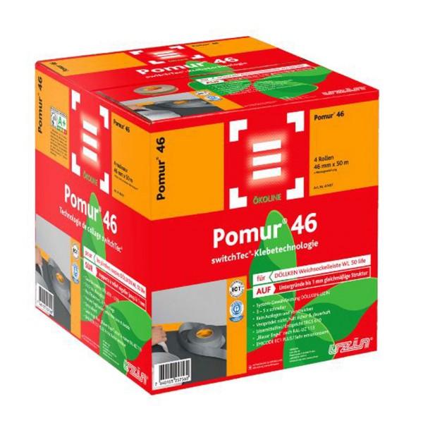 Uzin switchtec Pomur 46 Spezial-Sockelband für DÖLLKEN Weichsockelleisten WL 50 life auf Bodenchemie.de