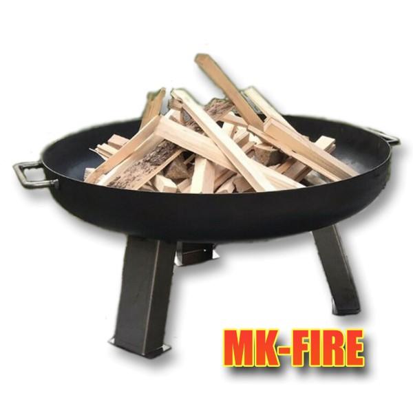 Feuerschale MK-FIRE 60cm handgemachte Profiqualität aus 3mm Stahlblech