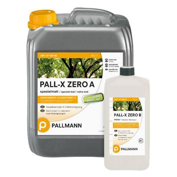 Pallmann PALL-X ZERO Spezialmatt 2K-Parkettversiegelung 10 Liter