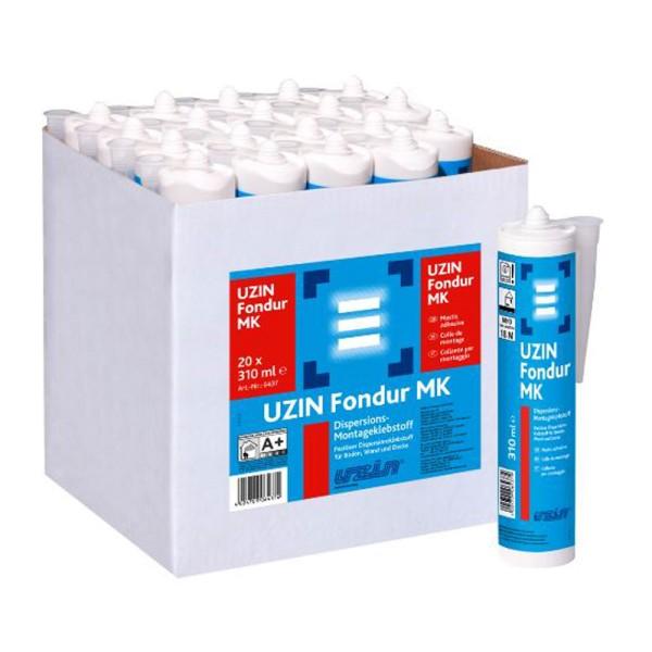 UZIN Fondur MK Pastöser Reparaturklebstoff für Boden, Wand und Decke auf Bodenchemie.de