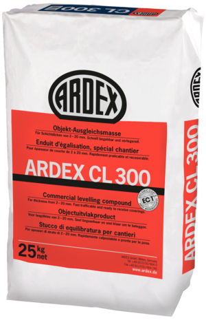 ARDEX CL 300 Ausgleichsmasse 25kg