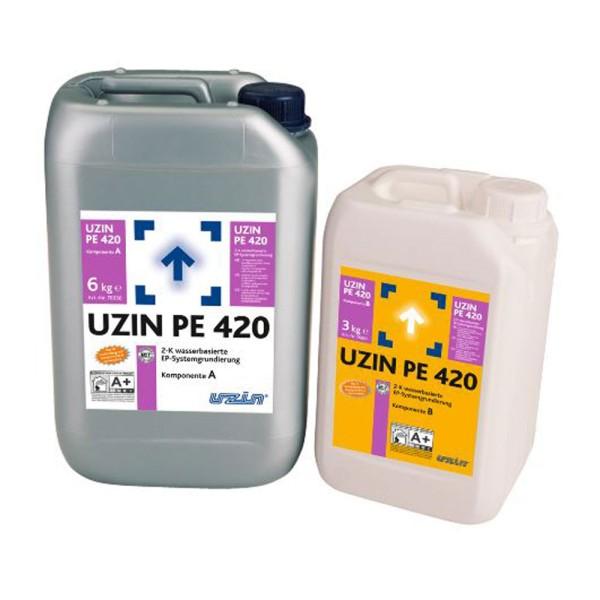 UZIN PE 420 Universelle Reaktionsharzgrundierung vor der Direktverlegung von Parkett auf Bodenchemie.de