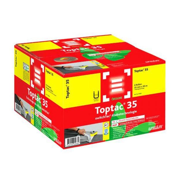 Uzin switchtec TopTac 35 Spezial-Sockelband für DÖLLKEN-Kernsockelleisten auf Bodenchemie.de