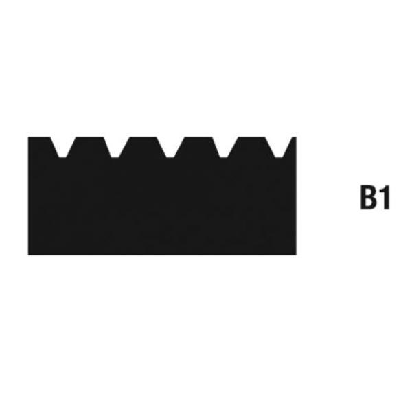 Zahnleisten Zahnung B1 - 28cm auf Bodentools.de