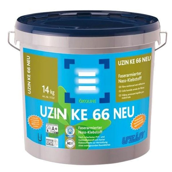 UZIN KE 6614kg Faserarmierter Nass-Klebstoff für Vinylboden auf Bauchemie.de