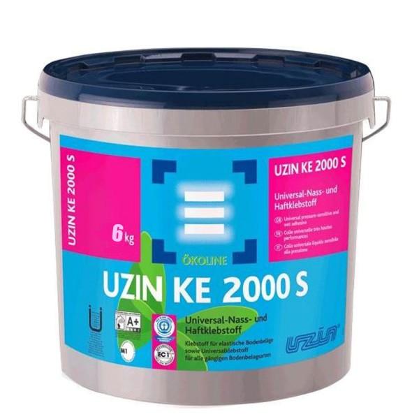 UZIN KE 2000 S Universalklebstoff für alle gängigen Bodenbelagsarten auf Bodenchemie.de
