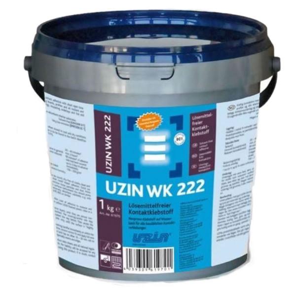 UZIN WK 222 Lösemittelfreier Kontaktklebstoff 1kg auf Bodenchemie.de