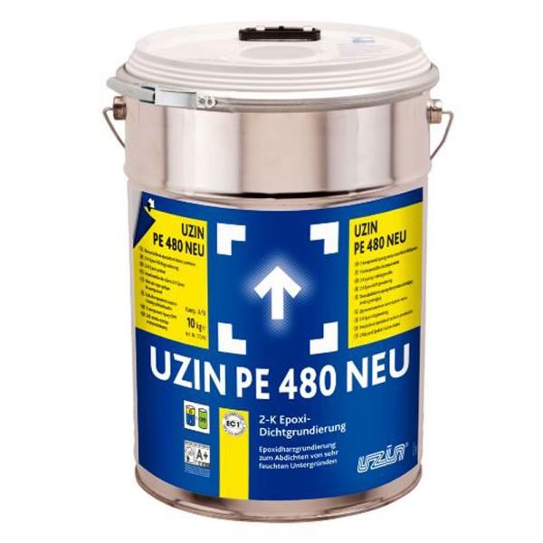 UZIN PE 480 NEU 2-K Epoxi-Feuchtesperre 10kg auf Bodenchemie.de
