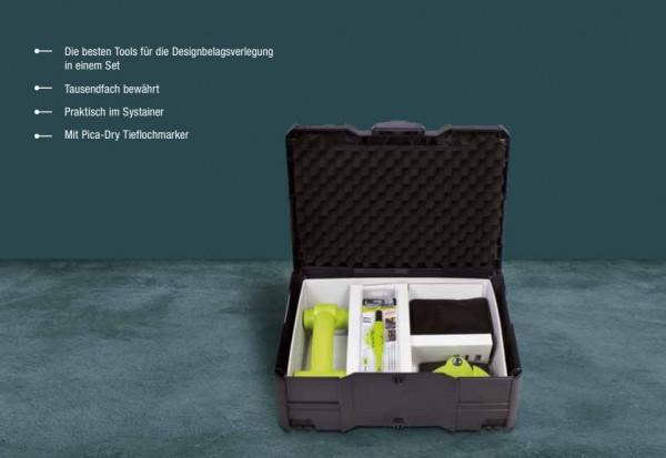 Wolff Design Vinyl Linoleum Collection im Koffer auf DeinBoden24.de