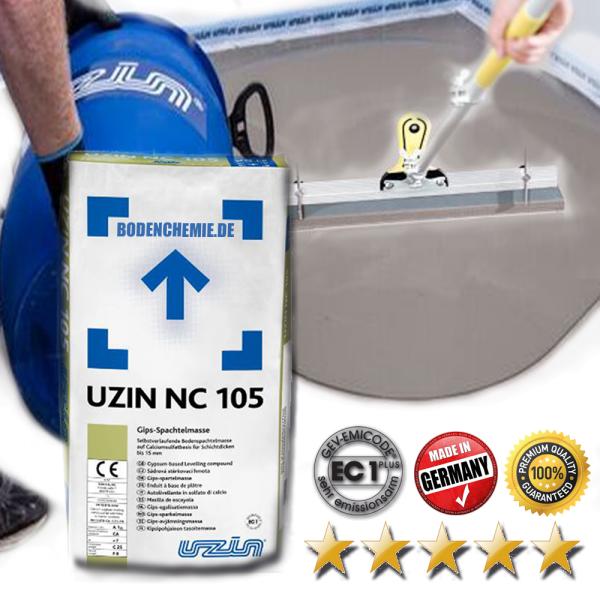 UZIN NC 105 Gips Ausgleichsmasse auf Bodenchemie.de