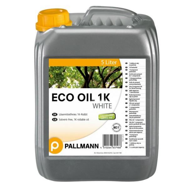 Pallmann Eco Oil WHITE 1K Parkett Rollöl 5 Liter auf Bodenchemie.de