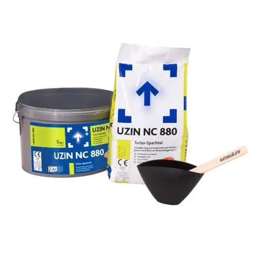 UZIN NC 880 Schneller Reparaturspachtel zum Feinausgleich und Füllen vor Bodenbelagsarbeiten