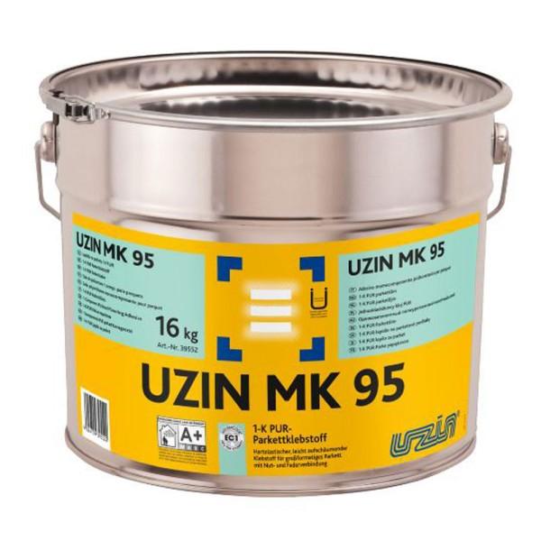 UZIN MK 95 Klebstoff für großformatiges Parkett mit Nut- und Federverbindung auf Bodenchemie.de