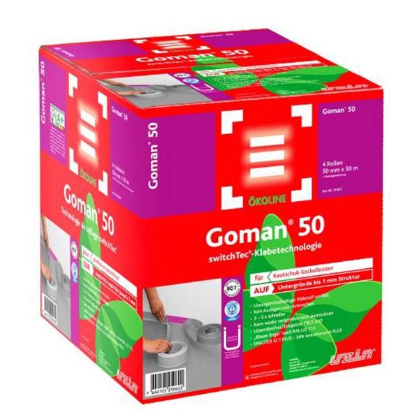 Uzin Switchtec Goman 50 Spezial Sockelband für Kautschuk-Sockelleisten auf Bodenchemie.de