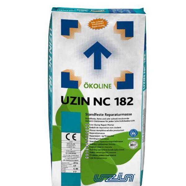 UZIN NC 182 Standfeste, feine und sehr schnell trocknende Zement-Glättmasse auf Bodenchemie.de
