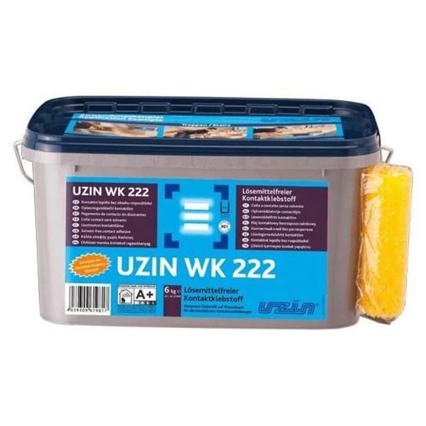 UZIN WK 222 Lösemittelfreier Kontaktklebstoff 6kg auf Bodenchemie.de
