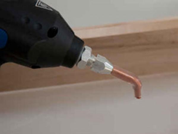 Verlängerungsdüse 3mm abgewinkelt für Schmelzkleber-Pistole auf DeinBoden24.de