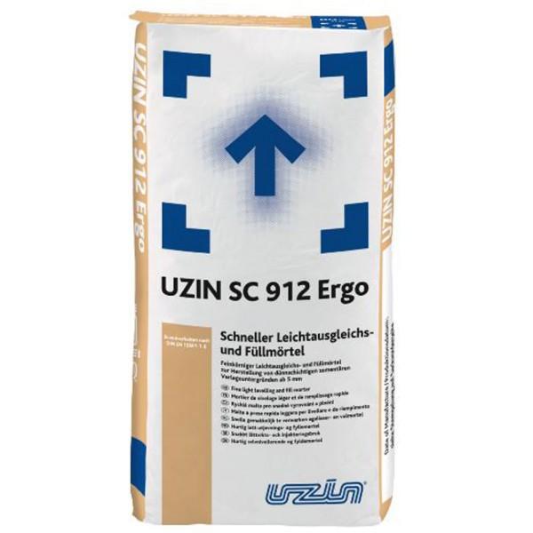 UZIN SC 912 Ergo Schneller Leichtausgleichs- und Füllmörtel auf Bodenchemie.de