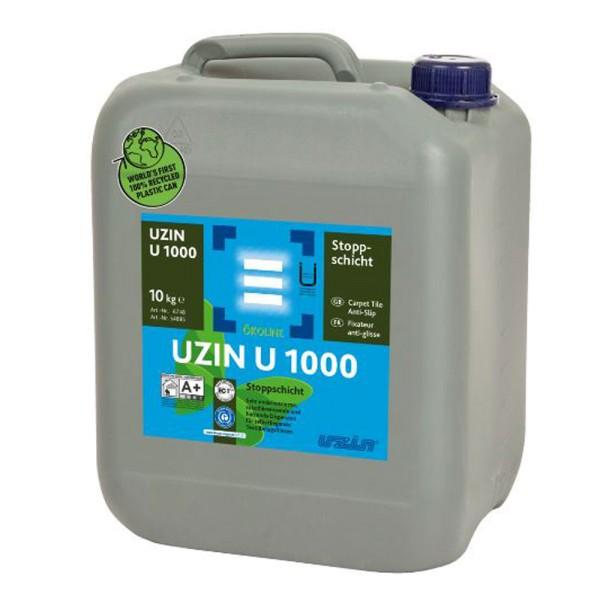 UZIN U 1000 Rutschbremsende und haftende Dispersion für selbstliegende Textilbelagsfliesen auf Bodenchemie.de